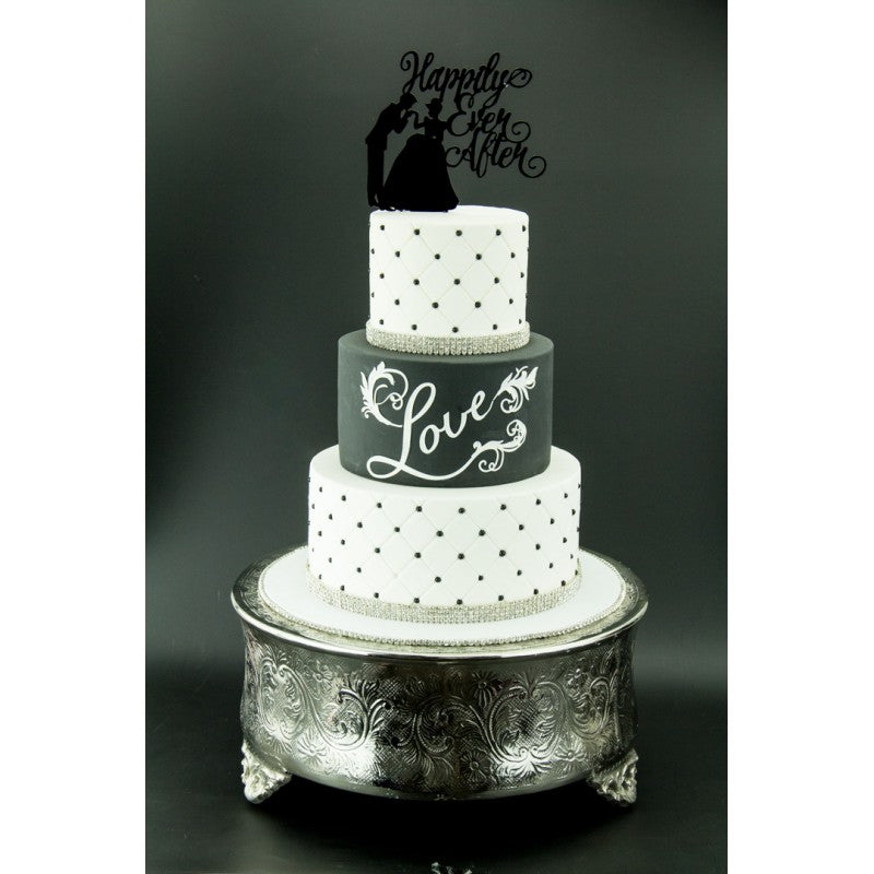 Black PCV Photo Backdrop - Perfection Cake Shots