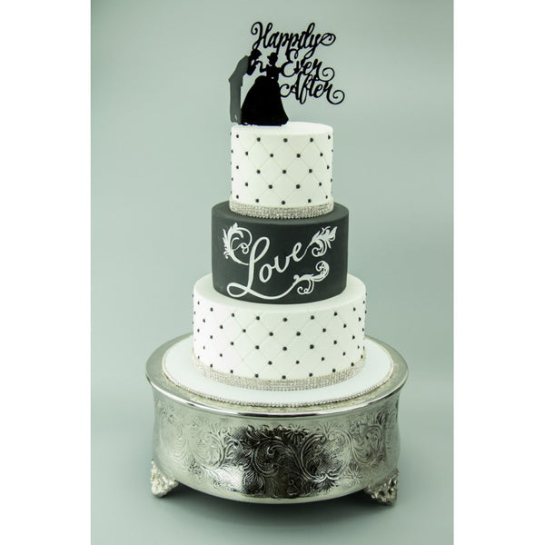 Grey PCV Photo Backdrop - Perfection Cake Shots