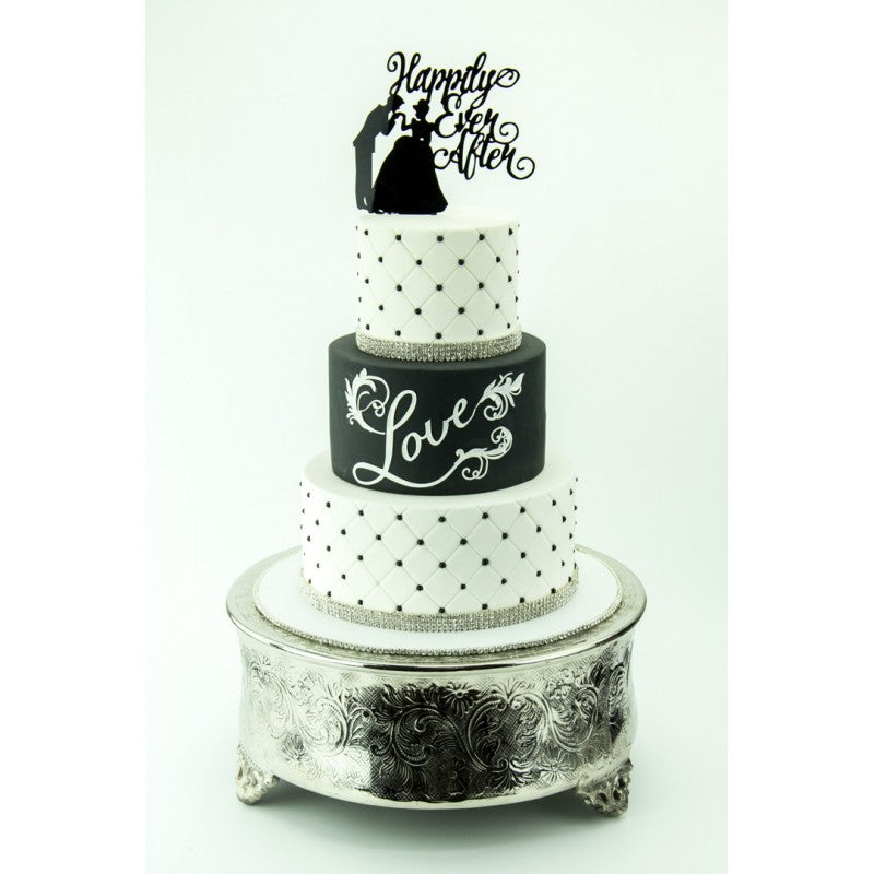 White PCV Photo Backdrop - Perfection Cake Shots
