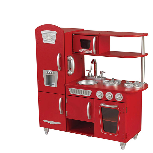 Red - Kids Vintage Toy Kitchen - Pre Order