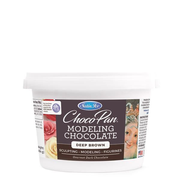Deep Brown - Chocopan Modelling Chocolate 454g