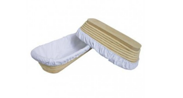 Bread Proofing Basket Cotton Liner - Long 12x27cm