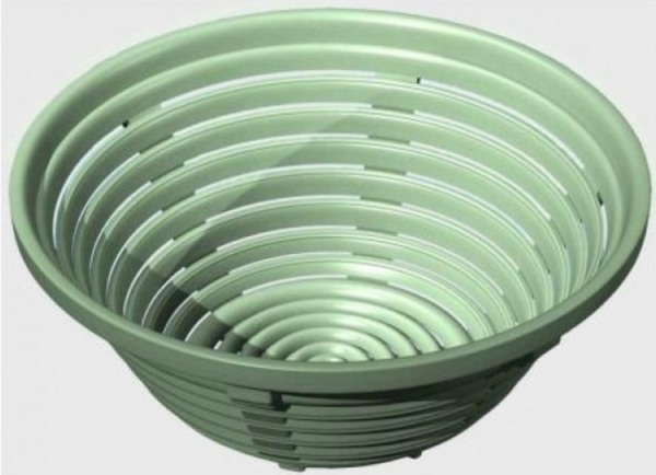 Bread Proofing Basket - Vented Plastic - 20cm - 500-700g loaf