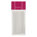 6 inch WHITE LOLLIPOP STICKS 25PK - ROBERTS