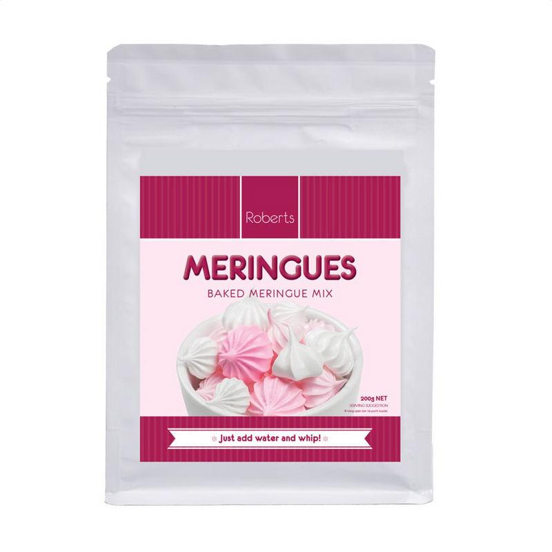 BAKED MERINGUE MIX 200g - Roberts