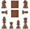 CHESS SET CHOCOLATE MOULD