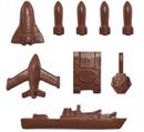 Military Tanks Battleships & Planes CHOCOLATE MOULD No 46