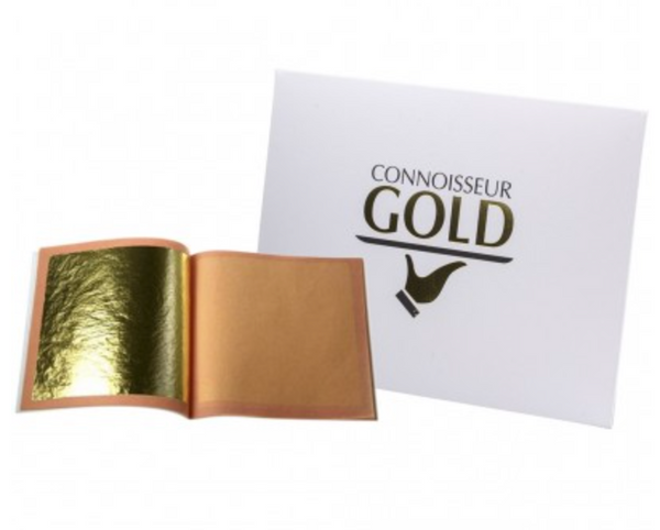 Edible Gold Leaf - 10 sheets transfer 23ct - Connoisseur Gold