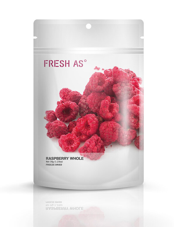Raspberry Whole 35g - Fresh As