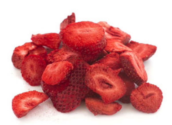 BULK 100g Strawberry Slices - Fresh As
