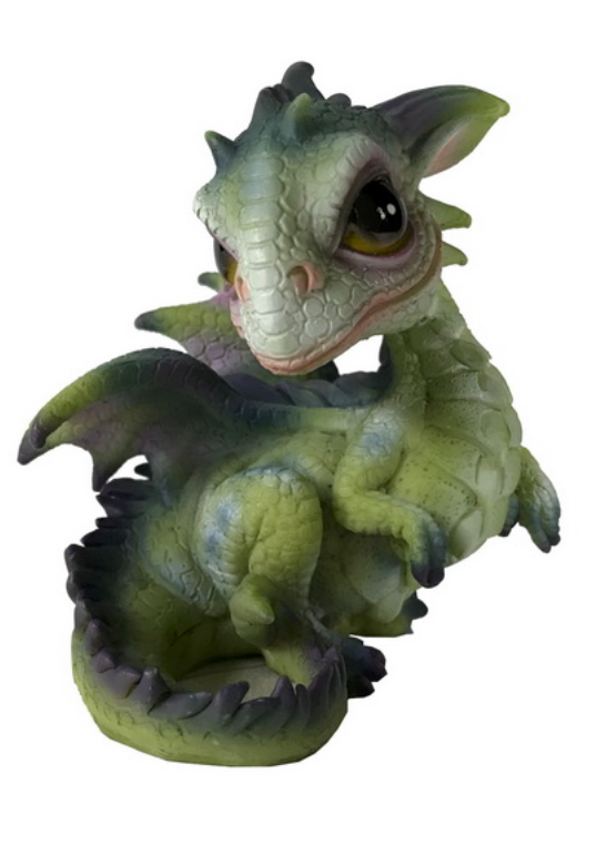 Wise Baby Dragons 9cm - Asstd Designs - Cake Ornament