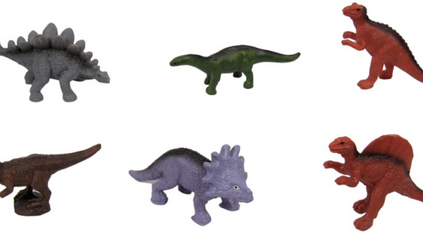 Miniature Dinosaurs - Cake Ornaments