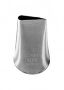 No 104 Rose Piping Tip - Loyal