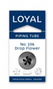 No 106 Drop Flower Piping Tip - Loyal