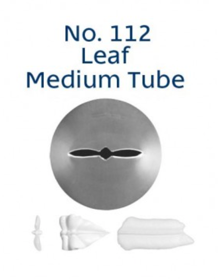 No 112 Leaf Medium Piping Tip - Loyal