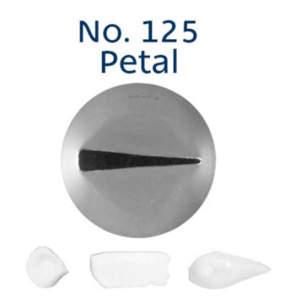 No 125 Petal Medium Piping Tip - Loyal