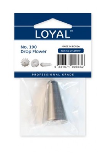 No 190 Drop Flower Medium Piping Tip - Loyal