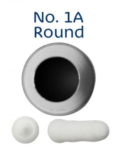 No 1A Round Medium Piping Tip - Loyal