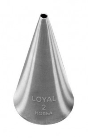 No 2 Round Piping Tip - Loyal