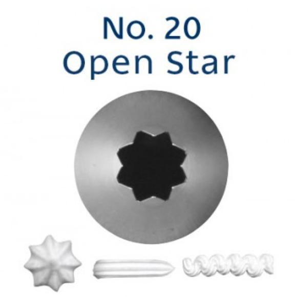 No 20 Star Piping Tip - Loyal