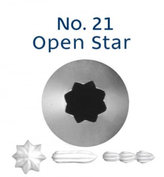 No 21 Star Piping Tip - Loyal