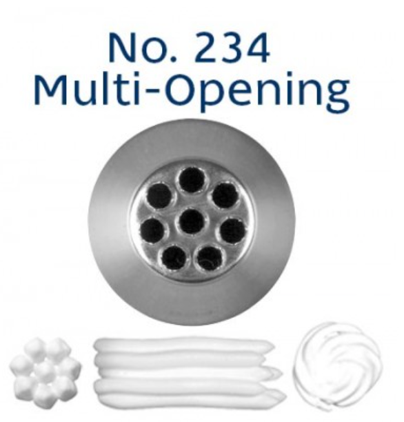 No 234 Multi-Opening/Grass Medium Piping Tip - Loyal