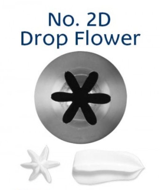 No 2D Closed Star Medium Piping Tip - Loyal