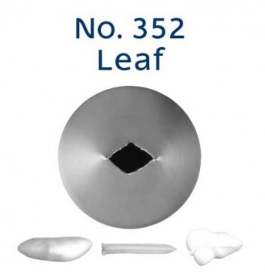 No 352 Leaf Piping Tip - Loyal