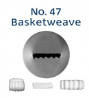 No 47 Basketweave Piping Tip - Loyal