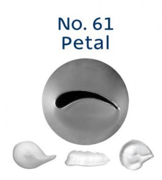 No 61 Petal Piping Tip - Loyal