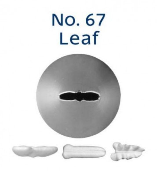 No 67 Leaf Piping Tip - Loyal