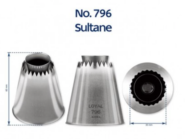 No 796 Sultane Extra Large Piping Tip - Loyal