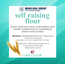 Flour - Self Raising 1kg - Manildra