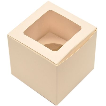 Cupcake Box - 1 Hold - White