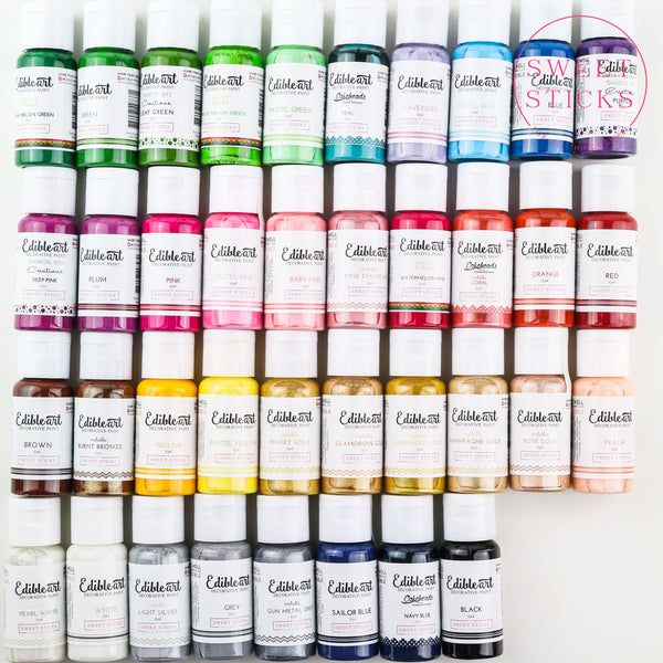 Matt Colours - Sweet Sticks Edible Art Decorative Paint 15ml