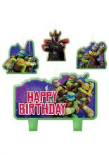 TMNT – Teenage Mutant Ninja Turtles Candle Set 4 Pc