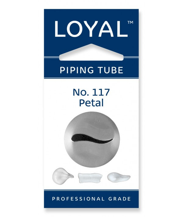 No 117 Petal Medium Piping Tip - Loyal