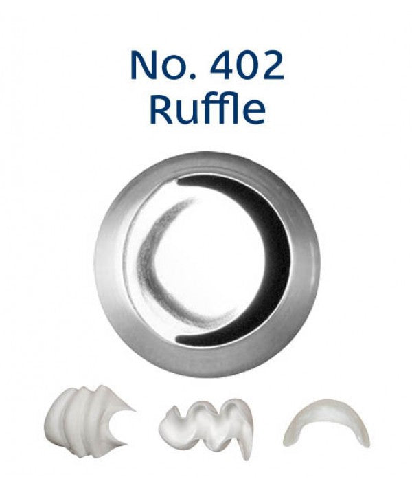 No 402 Ruffle Medium Piping Tip - Loyal