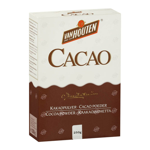 Cocoa Powder - Alkalised (Dutched) 250g - Van Houten