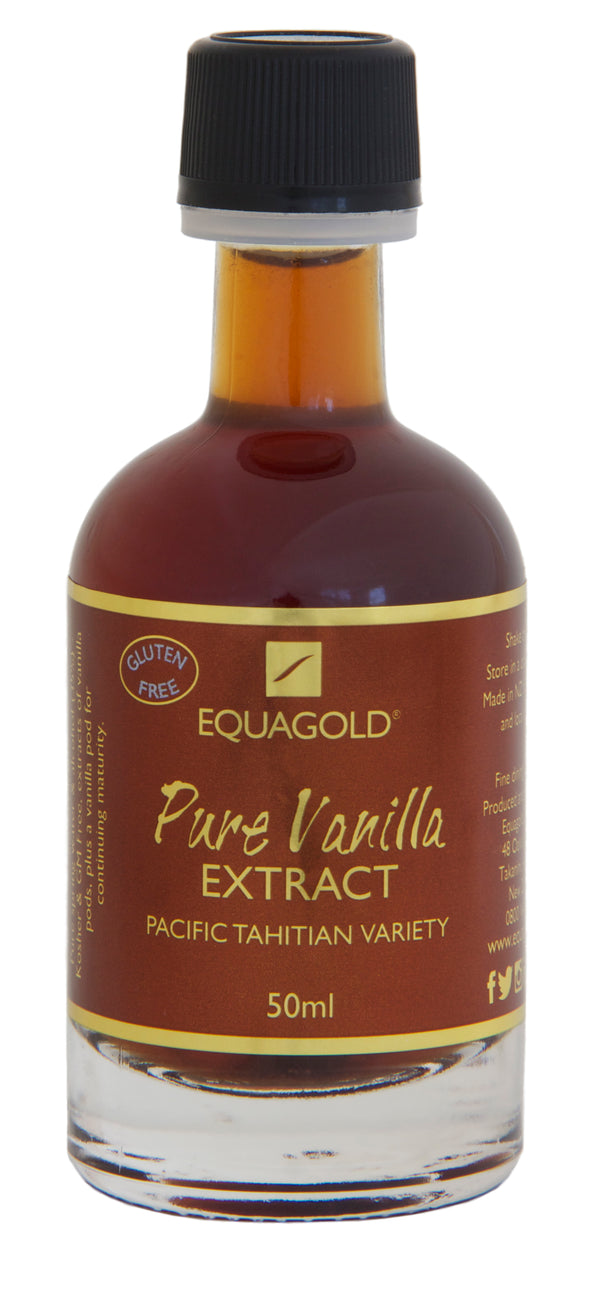 Pure Vanilla Extract 50ml - Equagold