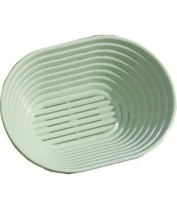 Bread Proofing Basket - Vented Plastic Oval - 500g - 21 x 15 cm