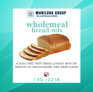 Bread Mix - Wholemeal 1kg - Manildra