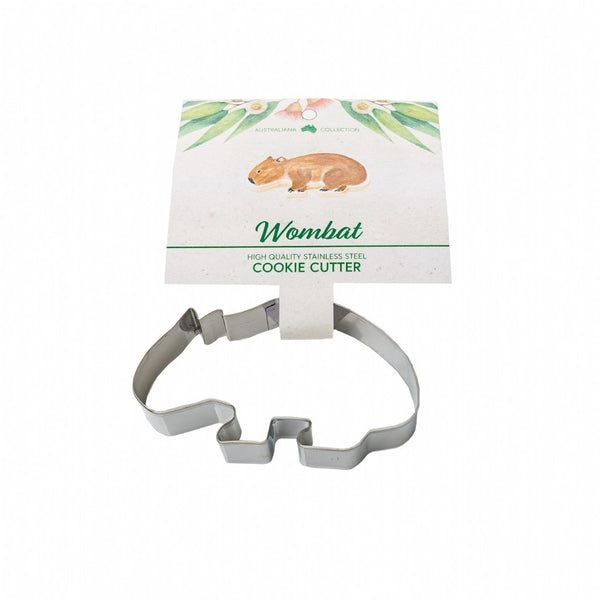 Wombat Cookie Cutter & Recipe Card