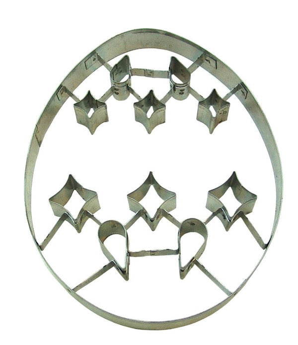 Ornate Egg - 20cm Extra Large Cookie Cutter
