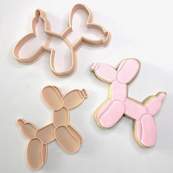 Embosser & Cutter Set - Balloon Dog - by Little Biskut