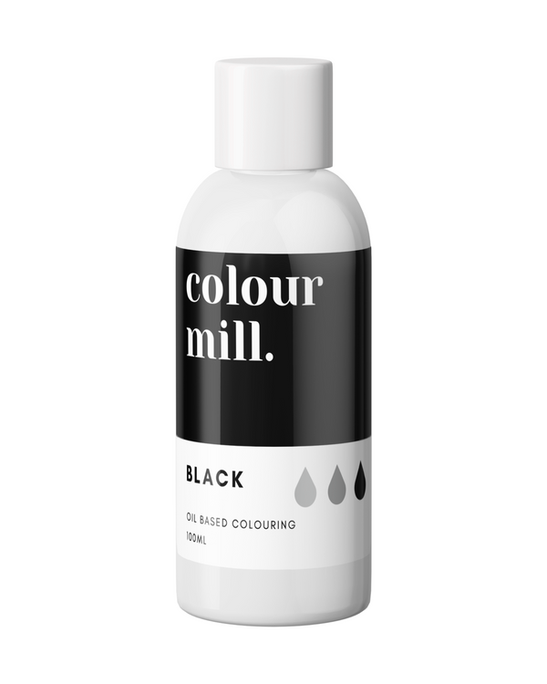 Colour Mill - Black - Oil Based Colour 100ml