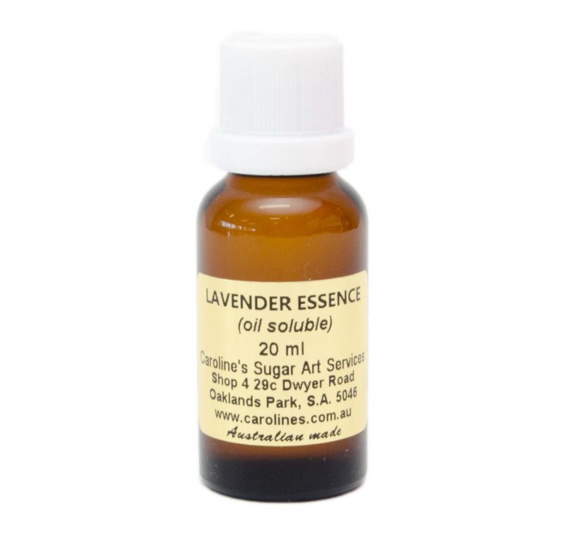 Lavender Essence 20ml – Carolines Sugar Art