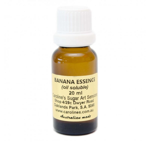 Banana Essence 20ml - Carolines Sugar Art