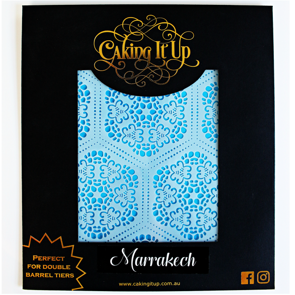 Marrakech Cake Stencil - Caking It Up