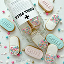 Embosser & Cutter Set - Chill Pill - by Little Biskut